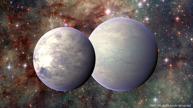 Planetas en la zona habitable de tau Ceti