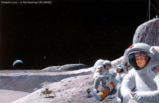 Bush podría anunciar misión tripulada a Marte